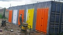 Kenya's shipping container homes