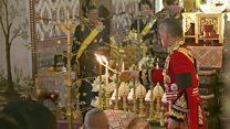 آخرین وداع تایلندی ها با پادشاه درگذشته؛ جسد شاه رامای چهارم یکسال پس از مرگش سوزانده شد