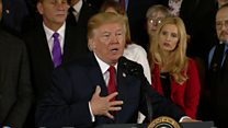 Trump shares brother's addiction story