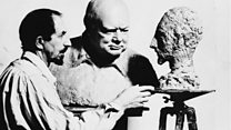 The exile who sculpted Churchill