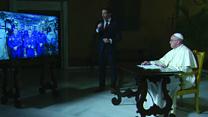 Папа римский похвалил российского космонавта на МКС