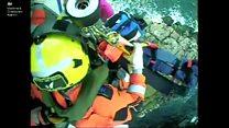 Fallen climber rescued by Coastguard