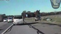 شرطة تطارد سيارة يقودها طفل عمره 10 سنوات في مدينة أمريكية
