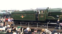 Locomotive Clun Castle back on track