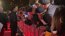 Barrage of selfies for Peaky Blinders stars