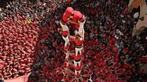 Catalonia's human tower power