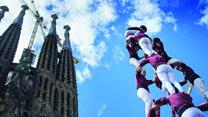 Как в Каталонии строят башни из людей