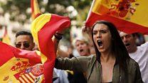 حرب أعلام تشتعل في إسبانيا