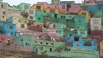 Rainbow paint job to cheer up Kabul