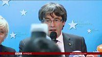 """Le leader catalan à Bruxelles pour échapper à une """"vengeance"""""""