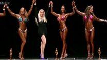 Iran : une femme dans le bodybuilding