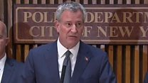 NYC mayor: 'We will be undeterred'
