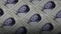Birthday stamps recall Marcos rule