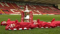 Football club welcomes 'cup' babies