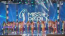 """Претендентки на звання """"Міс Перу"""" об'єдналися на захист жінок від насильства"""