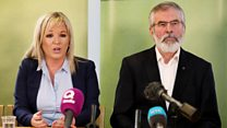 Sinn Féin disappointed by talks 'failure'