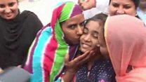 انڈین جیل سے حنا کی پاکستان واپسی