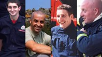 Fallen firefighter 'heroes' remembered