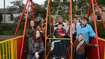 New wheelchair swing opens in park