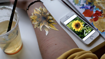 'I paint sunflowers on my self-harm scars'