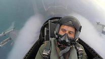 นักบินเอฟ 16 ซ้อมทำสงครามกับเกาหลีเหนือ