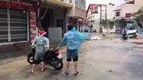 Typhoon Damrey hits southern Vietnam