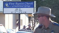 Texas church shooting: 'Half the congregation is gone'