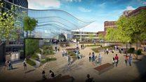 A makeover for Leeds Station is revealed