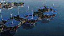 Cuộc sống trên những hòn đảo nhân tạo