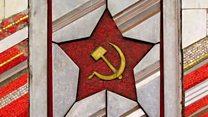 सोव्हिएत युनियनचा ध्वज असा आकारास आला.