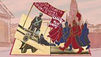 Петроград 1917: как это было - за 1 минуту