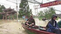 Vietnam floods: Many dead in Typhoon Damrey