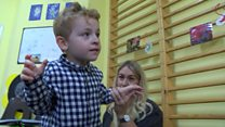 Charity helps toddlers with walking difficulties