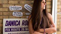 Transgender politician on road to history