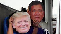 Trump v Duterte - who said what?
