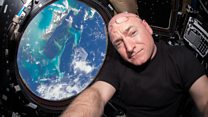 Spending a year up in Space