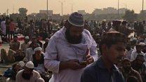اسلام آباد میں مذہبی جماعت کے دھرنے سے عوام مشکل میں