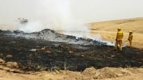 Wireless sensors to help fight forest fires