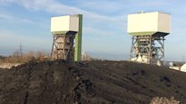 Kellingley Colliery: Landmark tower blown up