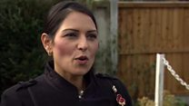 Priti Patel 'inundated' with support