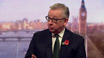 Gove 'does not know' why Briton was in Iran