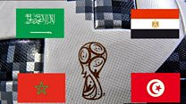 لأول مرة..4 منتخبات عربية تتأهل إلى المونديال
