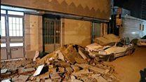 روایت شاهدان عینی از زلزله یکشنبه ایران: خانههایمان ویران شد
