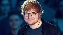Sheeran back after 'depressing six weeks'