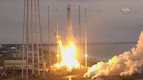 Український ракетоносій стартував у США