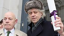 Bob Geldof hands back Dublin honour