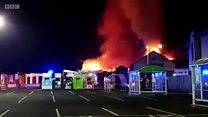 Fire rips through Blantyre Miners Welfare
