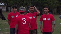 سربيا کې افغان او پاکستاني کډوالو کرېکټ ليګ جوړ کړی