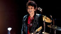 Ronnie Wood: From guitars to paintbrushes