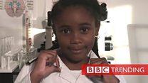 The 7-year-old neuroscientist on Facebook